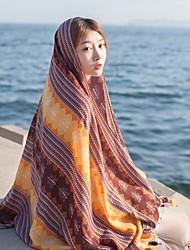 cheap -Women's Elegant & Luxurious Cotton Rectangle - Multi Color, Artistic Style