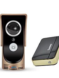 Недорогие -denimini wf-doorbell-gold-i smart wireless видеоролик обнаружение движения инфракрасное ночное видение золото