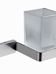 cheap -Modern Toothbrush Holder Stainless Steel Solid Rectangle