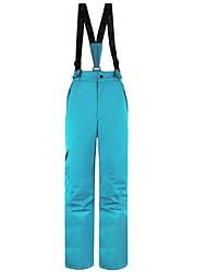 Недорогие -Жен. Лыжные брюки Теплый Водонепроницаемость С защитой от ветра Пригодно для носки Лыжи Воздухопроницаемость Катание на лыжах Отдых и