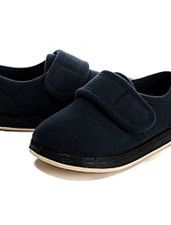 cheap -Boys' Shoes Fleece Winter Spring Comfort Flats Magic Tape for Casual Dark Blue