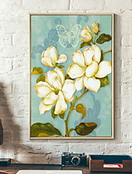 cheap -Botanical Illustration Wall Art,Aluminum Alloy Material With Frame For Home Decoration Frame Art Living Room