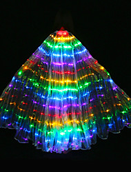 cheap -Belly Dance Isis Wings Women's Performance Polyester Bulb Included Tube Wings