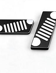 Недорогие -автомобильный Педаль газа Педаль тормоза Всё для оформления интерьера авто Назначение Jeep Все года Wrangler