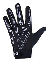 billiga Sport och friluftsliv-KORAMAN Aktivitet/Sport Handskar Cykelhandskar / Pekvantar Andningsfunktion / Bra andasmaterial (> 15.001g) / Anti-sladd Helt finger Spandex Cykling / Cykel Herr / Dam / Unisex
