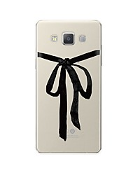 abordables -Funda Para Samsung Galaxy A7(2017) / A7(2016) Diseños Funda Trasera Líneas / Olas / Caricatura Suave TPU para A3 (2017) / A5 (2017) / A7 (2017)
