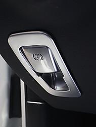 Недорогие -автомобильные электрические парковочные тормозные накладки diy автомобильные салоны для mercedes-benz все годы glc c класс c200l пластик