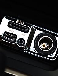 baratos -Automotivo Coberturas de pilha central Gadgets de Interior Personalizáveis para Carros Para Jeep Todos os Anos Cherokee