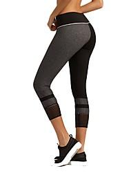 abordables -Mujer Pantalones de Running - Negro Deportes Licra Pantalones / Sobrepantalón Ropa de Deporte Transpirabilidad, Levantamiento de tope