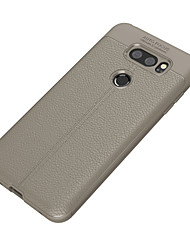 cheap -Case For LG V30 Q6 Ultra-thin Back Cover Solid Color Soft TPU for LG V30 LG Q6 Plus LG Q6 LG G6