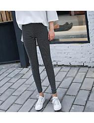 cheap -Women's Modern Style Cotton Medium Print Legging,Print Gray Black