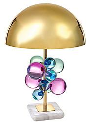 abordables -Cristal Artistique Cristal Lampe de Table Lampe de Bureau Pour Chambre à coucher Métal 220V A B