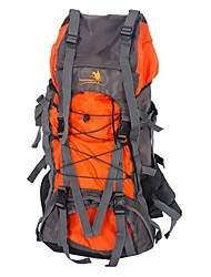 cheap -60 L Backpack Rucksack Hiking & Backpacking Pack Hiking Climbing Outdoor Exercise Camping Cross-Country Travel Mountaineering Back Country