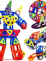 preiswerte -Magnetische Bauklötze Spielzeuge Transformierbar Weicher Kunststoff 109 Stücke