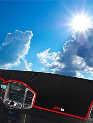 Недорогие -автомобильный Маска для приборной панели Коврики на приборную панель Назначение Chevrolet Все года Captiva Sport