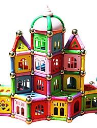 cheap -Magnetic Sticks / Building Blocks 398pcs Architecture Transformable Gift