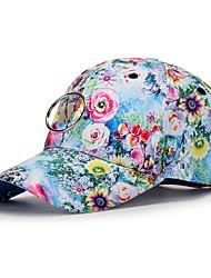 cheap -Unisex Polyester Baseball Cap - Floral