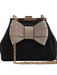 preiswerte -Damen Taschen PU Polyester Umhängetasche Schleife(n) für Normal Alle Jahreszeiten Schwarz Rote Beige Hellgrün