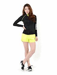 abordables -Femme Pull à capuche & Sweatshirt Manches Longues Séchage rapide, Pare-vent, Respirabilité Hauts / Top pour Costumes de Pom-Pom Girl /