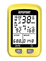 cheap -IGS20PLUS Bike Computer/Bicycle Computer Wateproof Bluetooth ANT+ PC Av - Average Speed LCD Display GPS Mountain Cycling Road Cycling