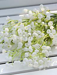 preiswerte -Künstliche Blumen 2 Ast Pastoralen Stil Schleierkraut Tisch-Blumen