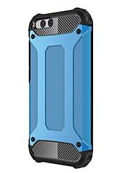 Недорогие -Кейс для Назначение Xiaomi Mi 6 Mi 6 Plus Защита от удара Кейс на заднюю панель броня Твердый Металл для Xiaomi Mi Note 2 Xiaomi Mi Max 2