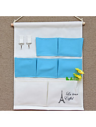 abordables -Tissu Rectangle Pliage Accueil Organisation, 1pc Sacs