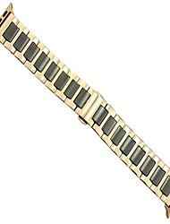 economico -cinturino per apple watch serie 3/2/1 apple cinturino da polso fibbia a farfalla in metallo ceramica