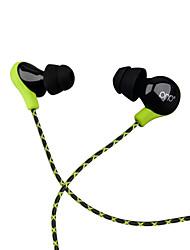 abordables -PHB P8 Dans l'oreille Câblé Ecouteurs Dynamique Plastique Pro Audio Écouteur Avec contrôle du volume Avec Microphone Casque