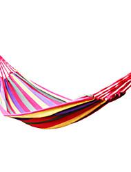 Недорогие -Туристический гамак Пригодно для носки Мягкость Хлопковая ткань для Пешеходный туризм Походы