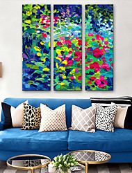 cheap -Canvas Print Classic Modern, Three Panels Canvas Vertical Print Wall Decor Home Decoration