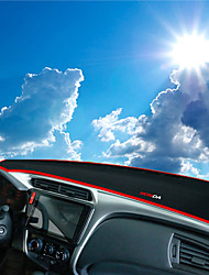 abordables -Automobile Matrice de tableau de bord Tapis Intérieur de Voiture Pour Honda 2015 2016 2017 Ville