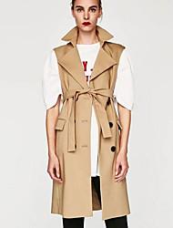 cheap -Women's Simple Vest-Solid Colored