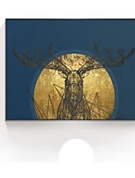 voordelige -Abstract Olieverfschilderij Muurkunst, Polystyreen Materiaal Met frame For Huisdecoratie Ingelijste kunst Woonkamer