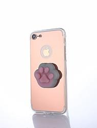 Θήκη Za Apple iPhone X iPhone 8 Zrcalo Uradi sam squishy Kućište Životinja Crtani film Tvrdo Akril za iPhone X iPhone 8 Plus iPhone 8