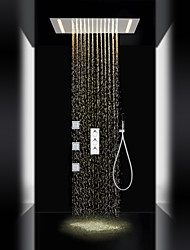 cheap -Shower Faucet - Contemporary Chrome Brass Valve