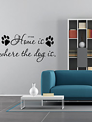 cheap -Shapes Words & Quotes Wall Stickers Plane Wall Stickers Decorative Wall Stickers, Vinyl Home Decoration Wall Decal Window Wall