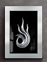 economico -Ad olio Decorazioni da parete,Legno Materiale con cornice For Decorazioni per la casa Cornice Interno