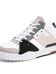 cheap -Shoes Leather Spring Fall Comfort Sneakers for Casual Outdoor White Black