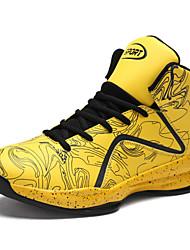 abordables -Chaussures Polyuréthane Printemps Eté Confort Chaussures d'Athlétisme pour Athlétique De plein air Noir Jaune Rouge