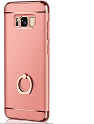 cheap -Case For Samsung Galaxy S8 Plus S8 Ring Holder Ultra-thin Origami Back Cover Solid Color Hard PC for S8 Plus S8 S7 edge S7 S6 edge plus