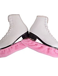 cheap -Over The Boot Figure Skating Tights All Ice Skating Bottoms Yellow Rose Red Sky Blue Pink Practise Skating Wear Solid Long Sleeves Figure