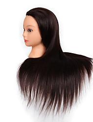 Недорогие -Все для стайлинга Синтетические волосы Стенды для париков Повседневные Классика Темно-рыжий Темное вино Черный