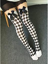 cheap -Women's Thin Stockings, Polyester 1pc White