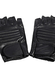 Недорогие -Спортивные перчатки Пригодно для носки Дышащий Анти-шоковая защита Мягкость Без пальцев Кожа PU Шоссейные велосипеды Разные виды спорта