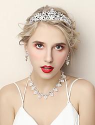 Недорогие -Жен. Комплект ювелирных изделий - Мода Включают Белый Назначение Свадьба Для вечеринок
