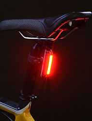 Rear Bike Light Cycling Water Resistant / Water Proof Lithium Lumens USB Powered