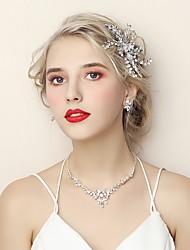 Недорогие -Жен. Комплект ювелирных изделий - Мода Включают Серебряный Назначение Свадьба / Обручение