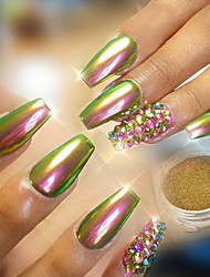 cheap -Nail Glitter Glitter Powder Powder Luxury Classic Mirror Effect Shiny High Quality Daily Nail Art Design
