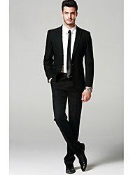 cheap -Men's Suits-Solid Colored,Pure Color / Long Sleeve / Work